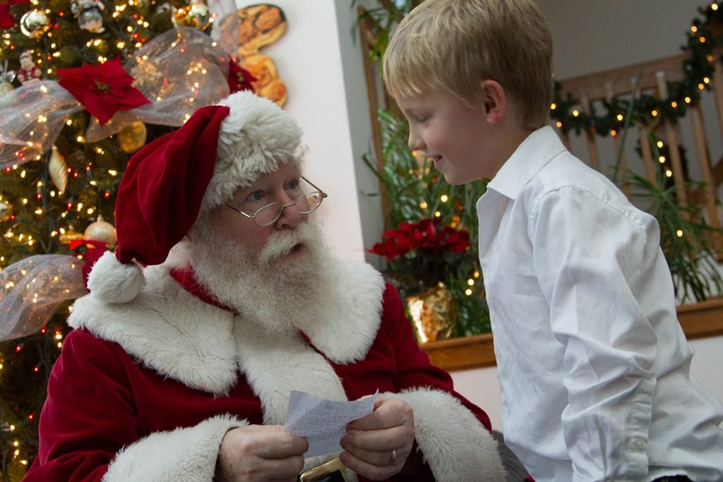 It's Beginning to Look a lot like Christmas: A Visit with Santa
