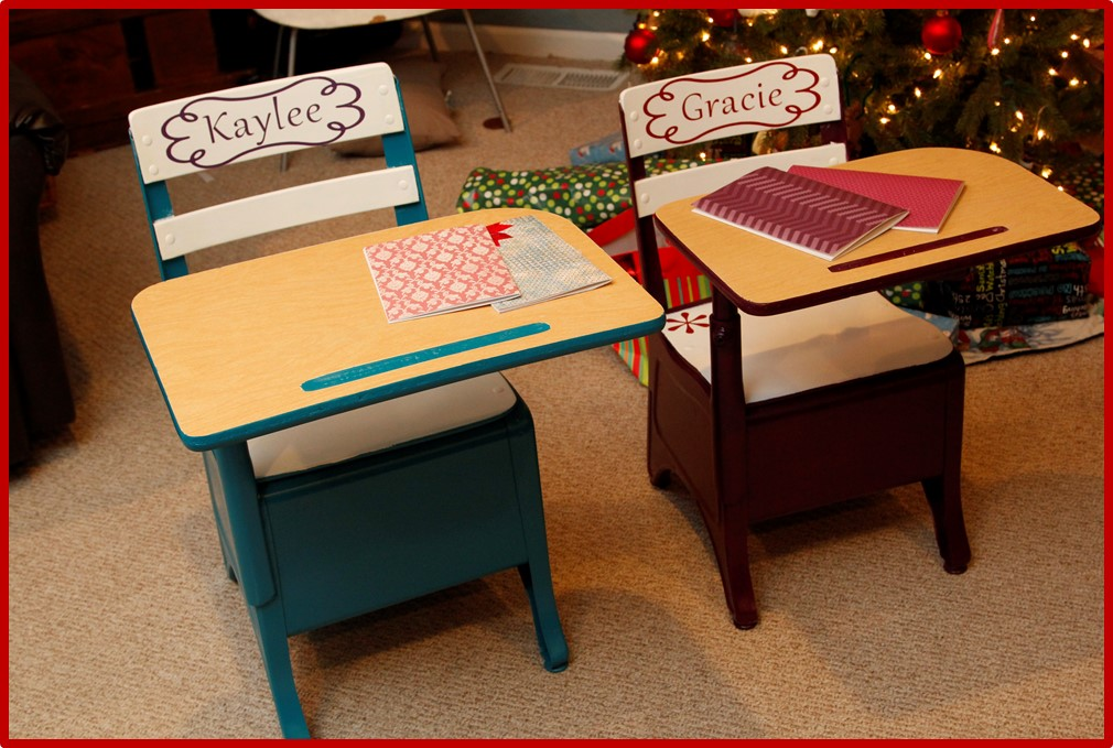 School Desks – Revived
